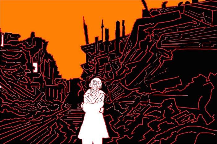 כאב ברזולוציה גבוהה: מחשבות בעקבות תערוכה של נועם עומר