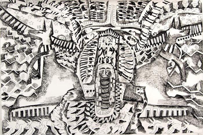 מה בין גוף למבנה? מחשבות בעקבות תערוכה של נועם עומר