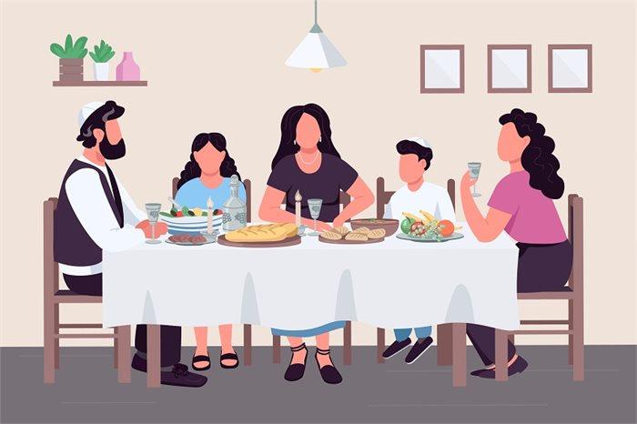 הלילה הזה כולו ארוחה: אוכל, רגשות ומשפחה בליל הסדר
