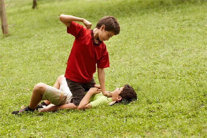 איך מטפלים בילד אלים?