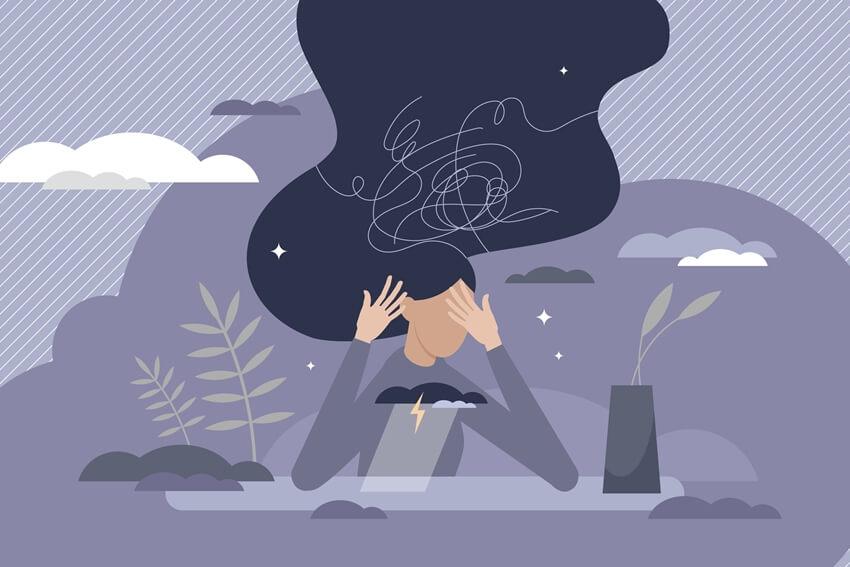 על התמודדות עם חרדה והרגעה עצמית