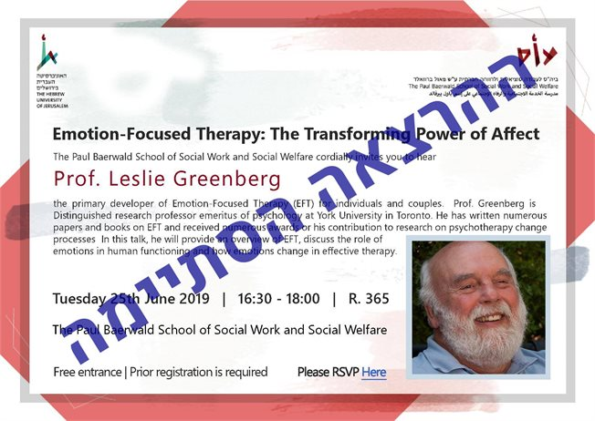 Emotion-Focused Therapy the Transforming Power on Affect